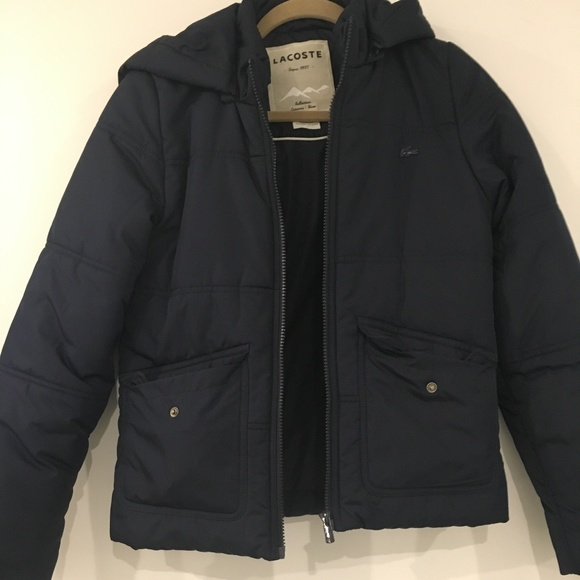b7b62e837e Lacoste Women's puffer jacket